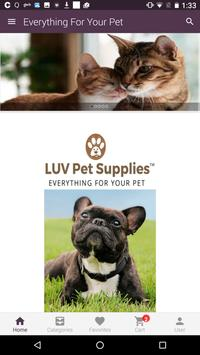 Luv Pet Supplies poster