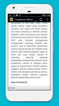 Mikrotik Pengetahuan Lengkap screenshot 2