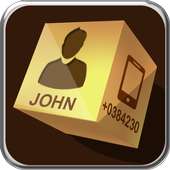 phone contact book 3D- Free icon