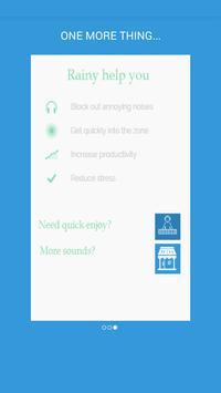 Rainy - Meditate, Sleep, Relax apk screenshot