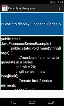 Core Java Programs screenshot 3