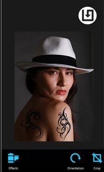 Tattoo Camera apk screenshot