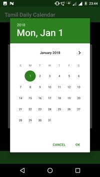 Tamil Daily Calendar screenshot 2