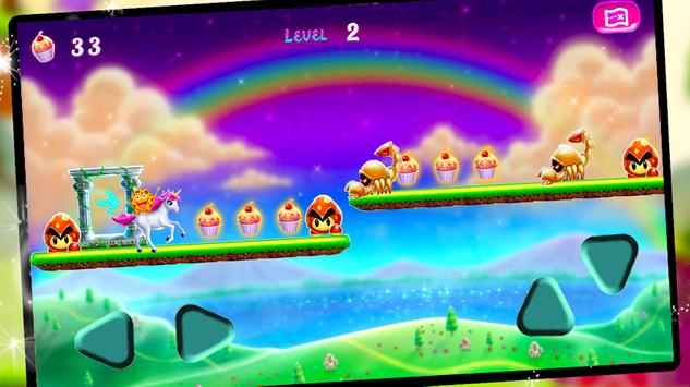 Cookie Swirl Lol Unicorn Run apk screenshot