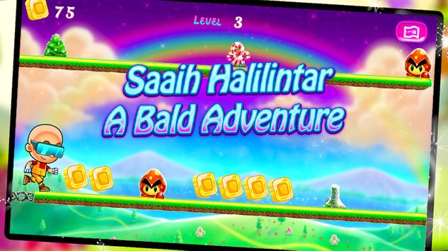Saaih Halilintar A Bald Hero Adventure apk screenshot