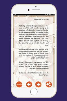 داستان کوتاه انگلیسی (با ترجمه فارسی) apk screenshot