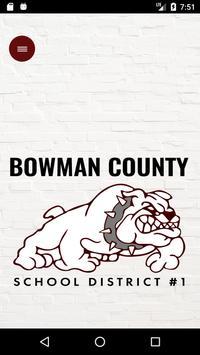 Bowman County Schools poster