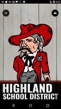Highland School District poster