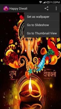 Happy Diwali Wallpaper screenshot 1