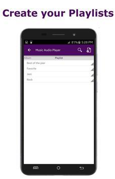 Music Audio Player screenshot 2