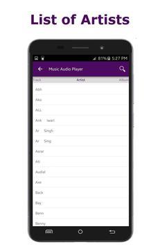 Music Audio Player screenshot 4