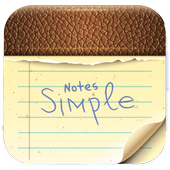 Notes Simple icon