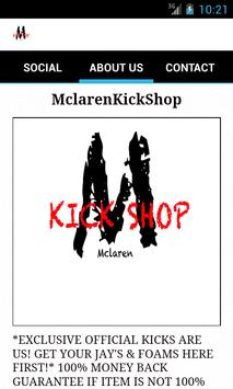 MclarenKickShop screenshot 2