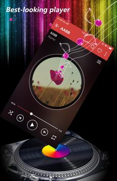 Colourful Mp3 player poster