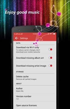 Colourful Mp3 player apk screenshot