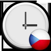 Czech Republic Clock Widget icon