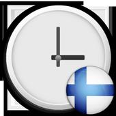 Finland Clock & RSS Widget icon