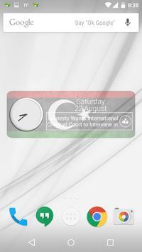 Libya Clock & RSS Widget poster