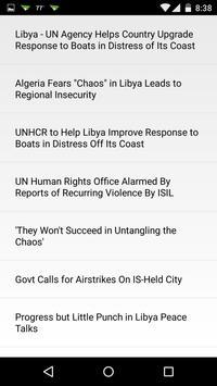Libya Clock & RSS Widget apk screenshot