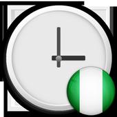 Nigeria Clock & RSS Widget icon