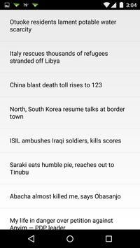 Nigeria Clock & RSS Widget apk screenshot