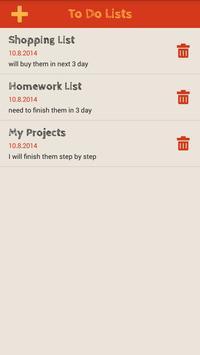 Simple To Do List apk screenshot