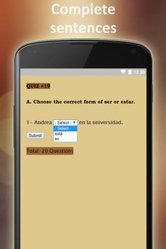 Easy Spanish Full screenshot 7