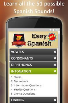 Easy Spanish Full screenshot 9