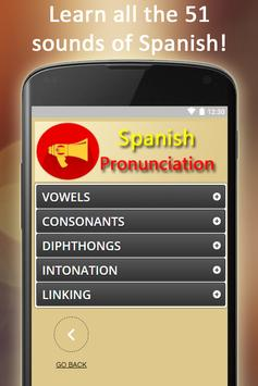 Easy Spanish Pronunciation - Audios and Listening screenshot 1