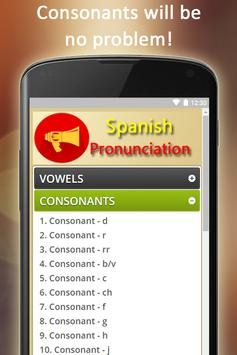 Easy Spanish Pronunciation - Audios and Listening screenshot 2