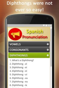 Easy Spanish Pronunciation - Audios and Listening screenshot 5