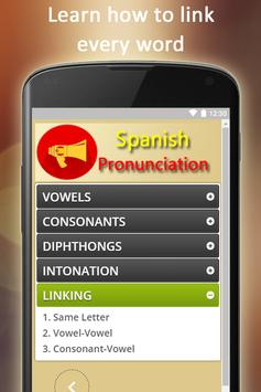 Easy Spanish Pronunciation - Audios and Listening screenshot 8