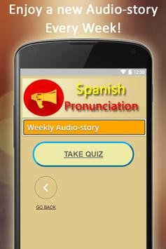 Easy Spanish Pronunciation - Audios and Listening screenshot 9