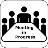 Meeting (no call) icon