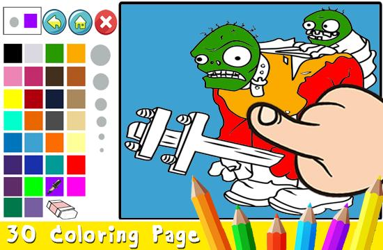 Colors Cartoon Vs Zombie Plant Game For Android Apk Download