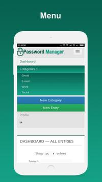 Password Manager apk screenshot