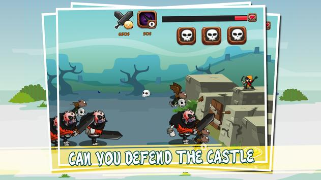 Zombie Archer Monster Defense apk screenshot