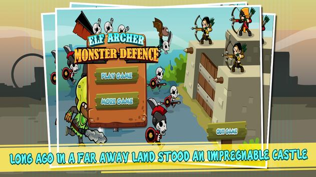 Elf Archer Monster Defense poster