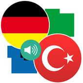 German Turkish Translation new icon
