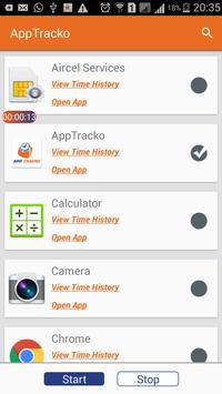 App Tracko - App Usage Time apk screenshot