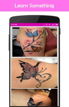 Butterfly Tattos Design Ideas apk screenshot