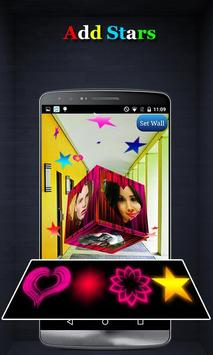 3D Cube Live Wallpaper Photo Editor apk screenshot