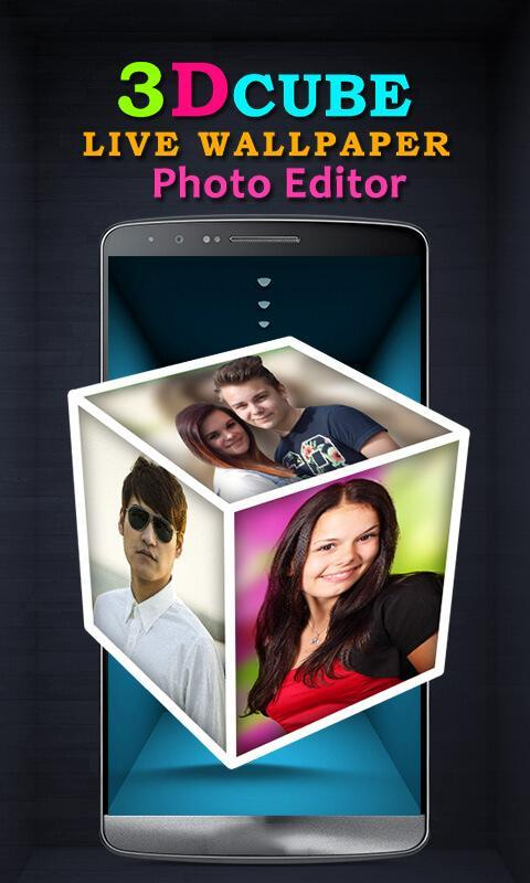 3d Cube Live Wallpaper Photo Editor For Android Apk Download