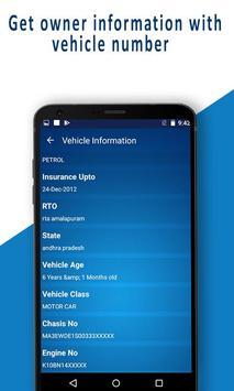 RTO - Vehicle Registration Details, Owner Info screenshot 3