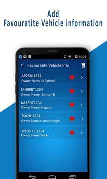 RTO - Vehicle Registration Details, Owner Info screenshot 4