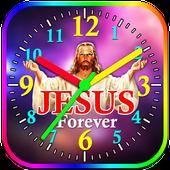 Jesus Clock Live Wallpaper, Photo Editor icon