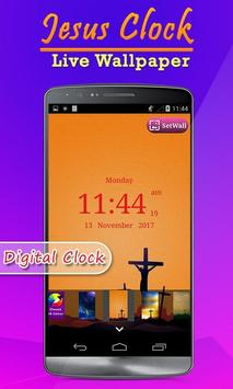Jesus Clock Live Wallpaper, Photo Editor screenshot 5