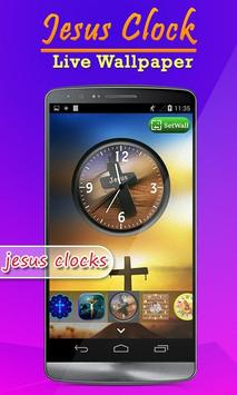 Jesus Clock Live Wallpaper, Photo Editor screenshot 7
