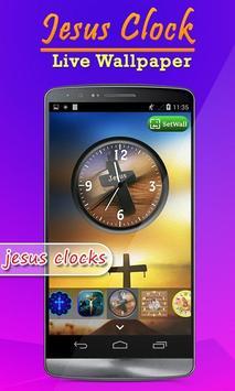 Jesus Clock Live Wallpaper, Photo Editor screenshot 7