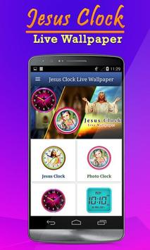 Jesus Clock Live Wallpaper, Photo Editor poster